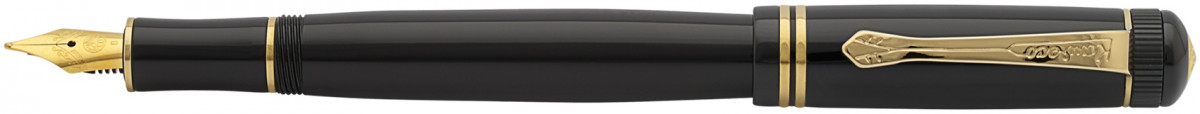 Kaweco DIA 2 Fountain Pen - Black Gold Trim