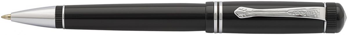 Kaweco DIA 2 Ballpoint Pen - Black Chrome Trim