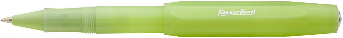 Kaweco Frosted Sport Rollerball Pen - Fine Lime