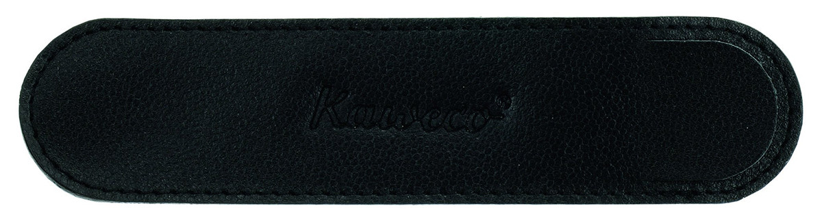 Kaweco Eco Leather Pouch for Regular Pens - Black - Single