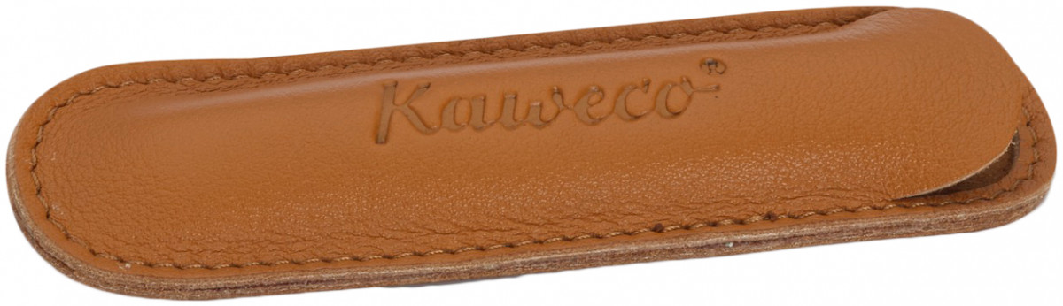 Kaweco Eco Leather Pouch for Liliput Pens - Brandy - Double