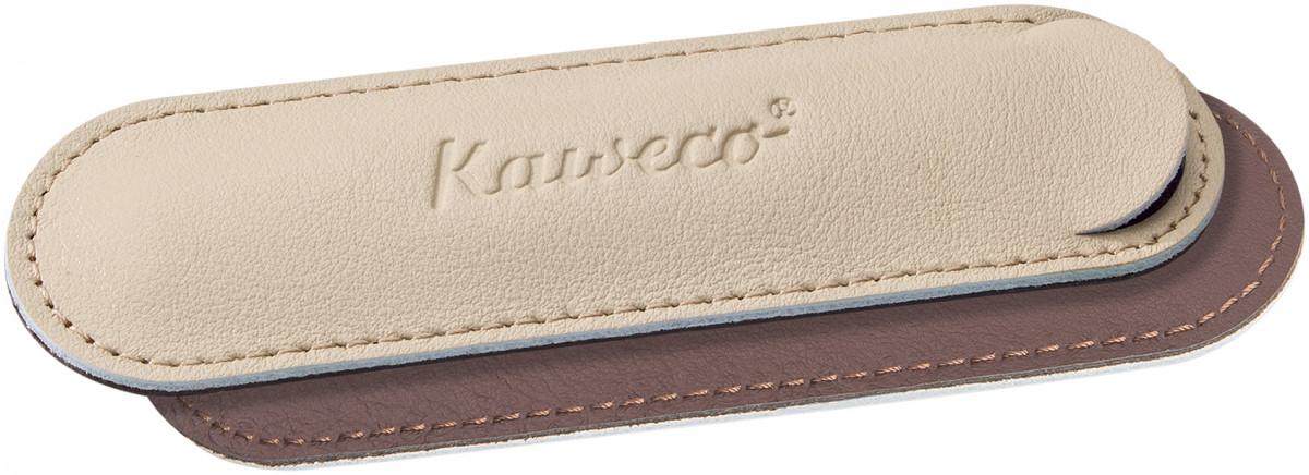 Kaweco Eco Leather Pouch for Sport Pens - Creamy Espresso - Single