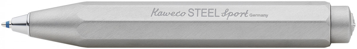 Kaweco Steel Sport Ballpoint Pen - Steel