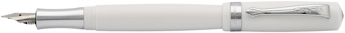 Kaweco Student Fountain Pen - White Chrome Trim