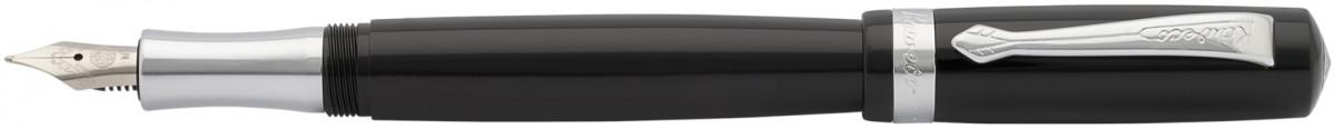 Kaweco Student Fountain Pen - Black Chrome Trim