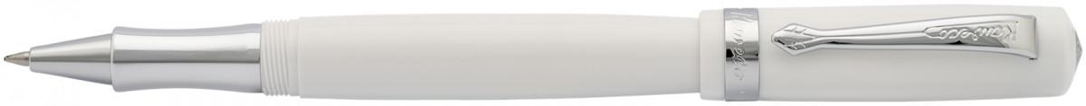 Kaweco Student Rollerball Pen - White Chrome Trim