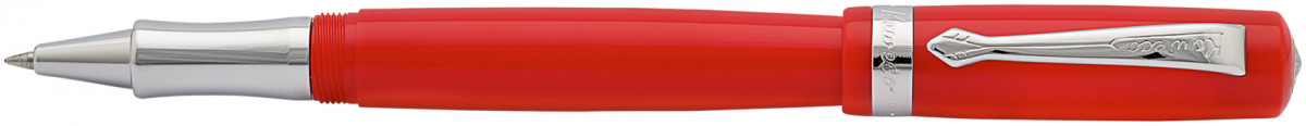 Kaweco Student Rollerball Pen - Red Chrome Trim