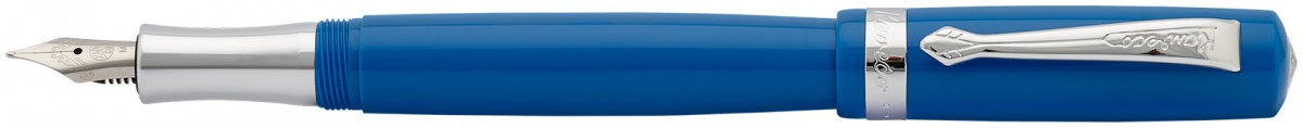 Kaweco Student Fountain Pen - Vintage Blue Chrome Trim