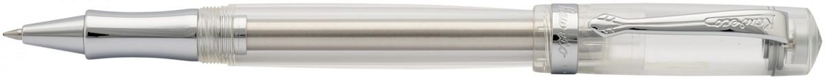 Kaweco Student Rollerball Pen - Transparent Chrome Trim