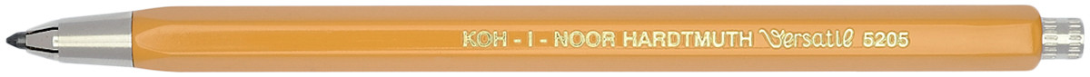 Koh-I-Noor 5205 Mechanical Clutch Leadholder - 2.5mm - Yellow