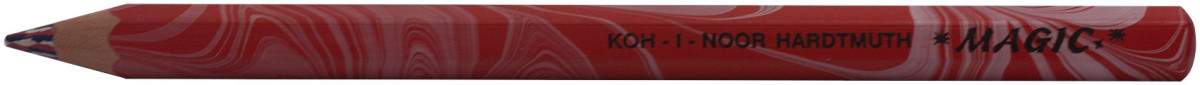Koh-I-Noor 3405 Jumbo Special Coloured Magic Pencils - America Red (Tube of 30)