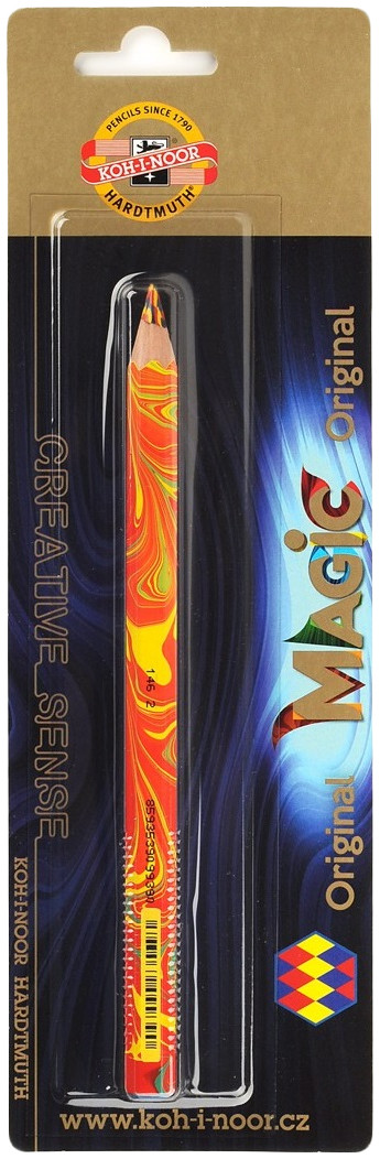Koh-I-Noor 3405 Jumbo Special Coloured Magic Pencil - Original (Blister of 1)