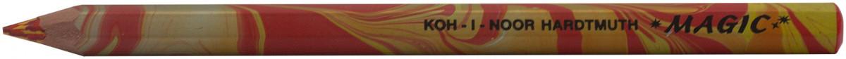 Koh-I-Noor 3405 Jumbo Special Coloured Magic Pencils - Fire (Tube of 30)