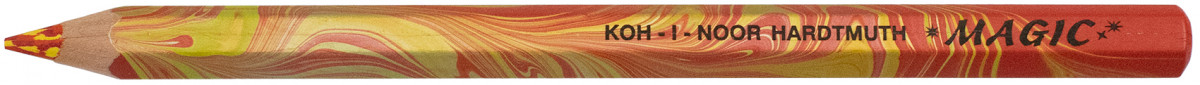Koh-I-Noor 3405 Jumbo Special Coloured Magic Pencil - Fire