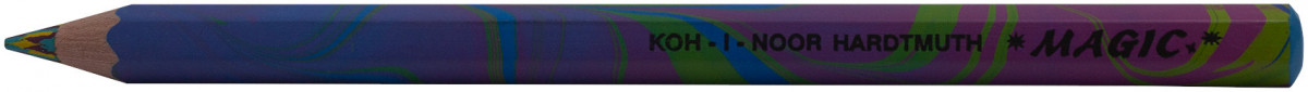 Koh-I-Noor 3405 Jumbo Special Coloured Magic Pencils - Tropical (Tube of 30)