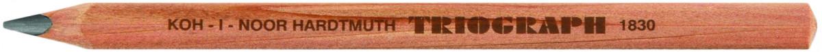 Koh-I-Noor 1831 Jumbo Triangular Graphite Pencils - HB & F (Pack of 6)