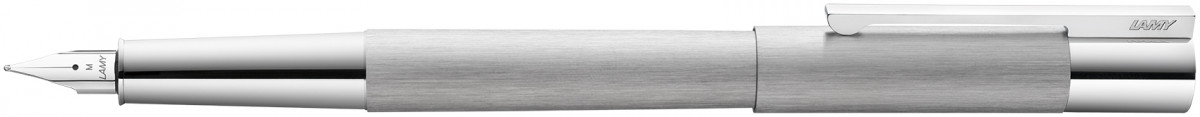 Lamy Scala Fountain Pen - Brushed Stainless Steel