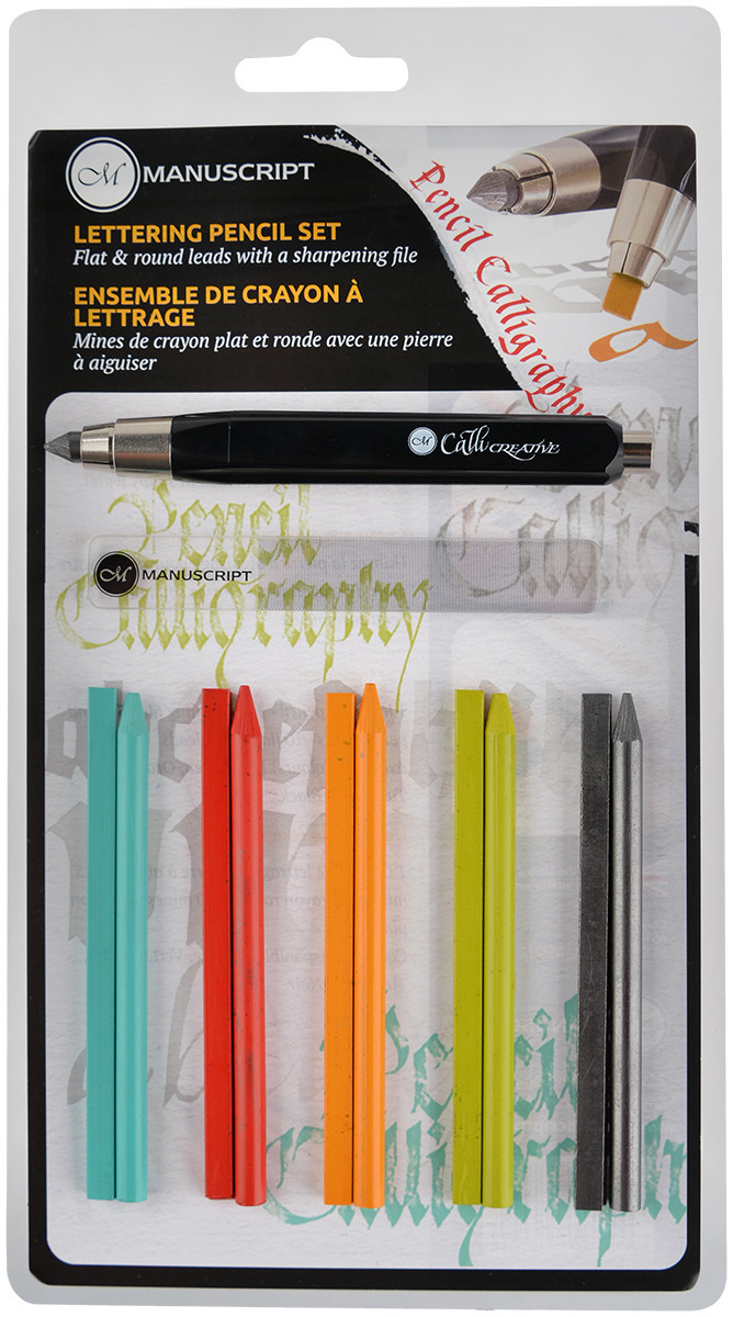 Manuscript Callicreative Lettering Pencil Set