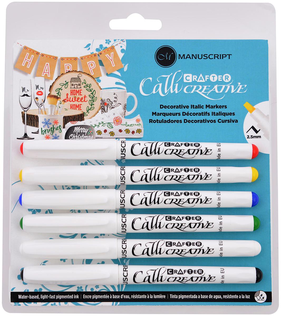 Manuscript Callicreative Crafter Markers