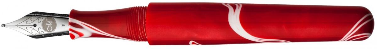 Manuscript ML 1856 Fountain Pen - Red Storm