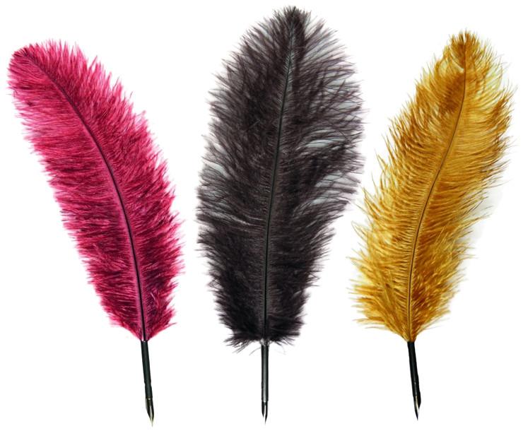Manuscript Quill Pens - Assorted Decorative Colours (Pack of 10)