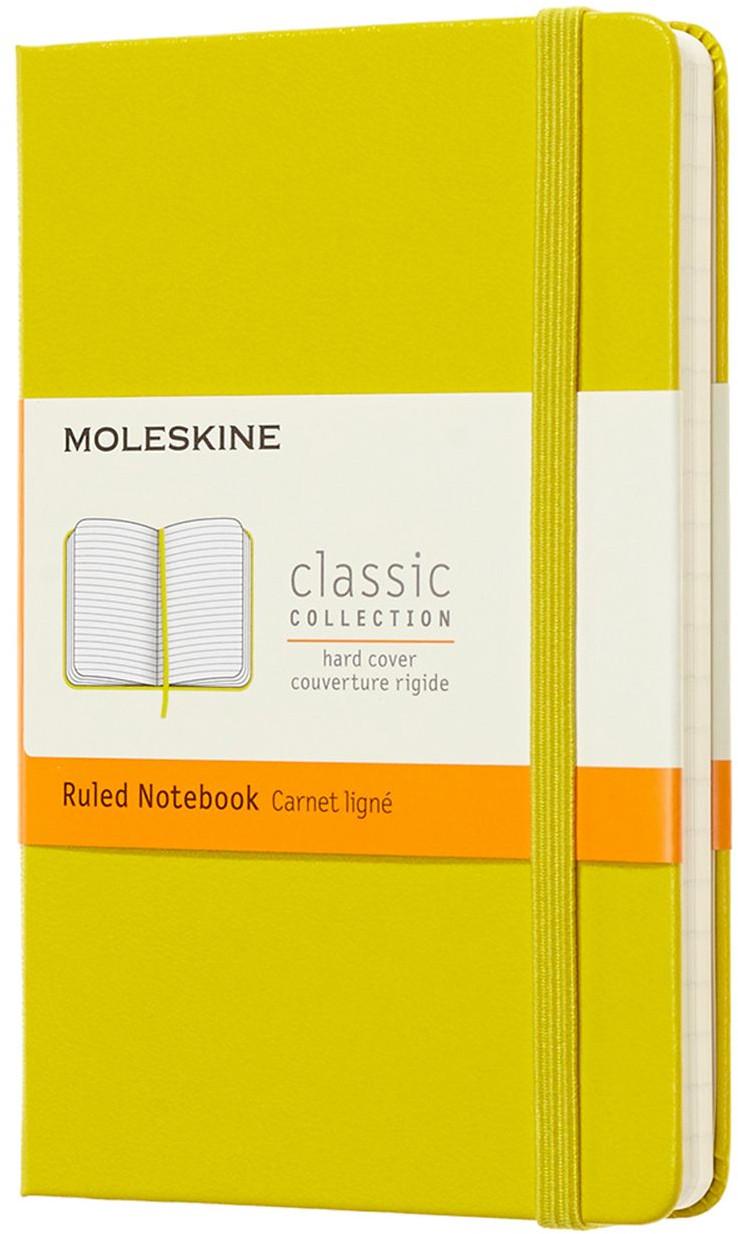 Moleskine Classic Hardback Pocket Notebook - Ruled - Assorted