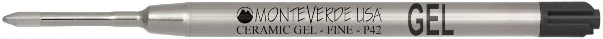 Monteverde Capless Ceramic Gel Refill To Fit Parker (Blister of 2)