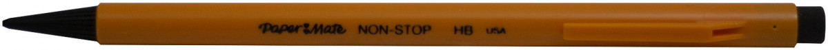 Papermate Non Stop Mechanical Pencil - 0.7mm - Yellow
