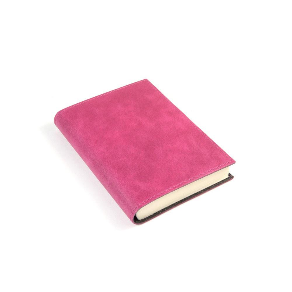 Papuro Capri Leather Journal - Raspberry - Small