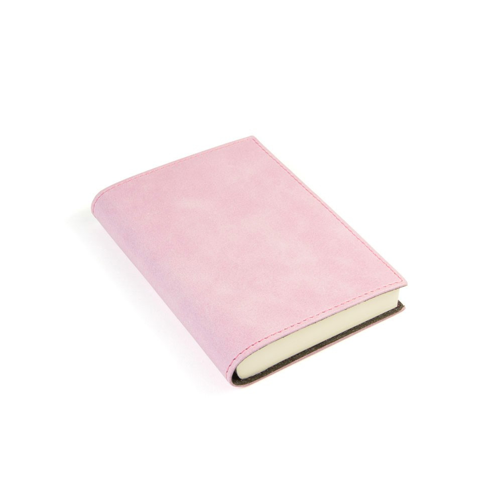 Papuro Capri Leather Journal - Pink - Small
