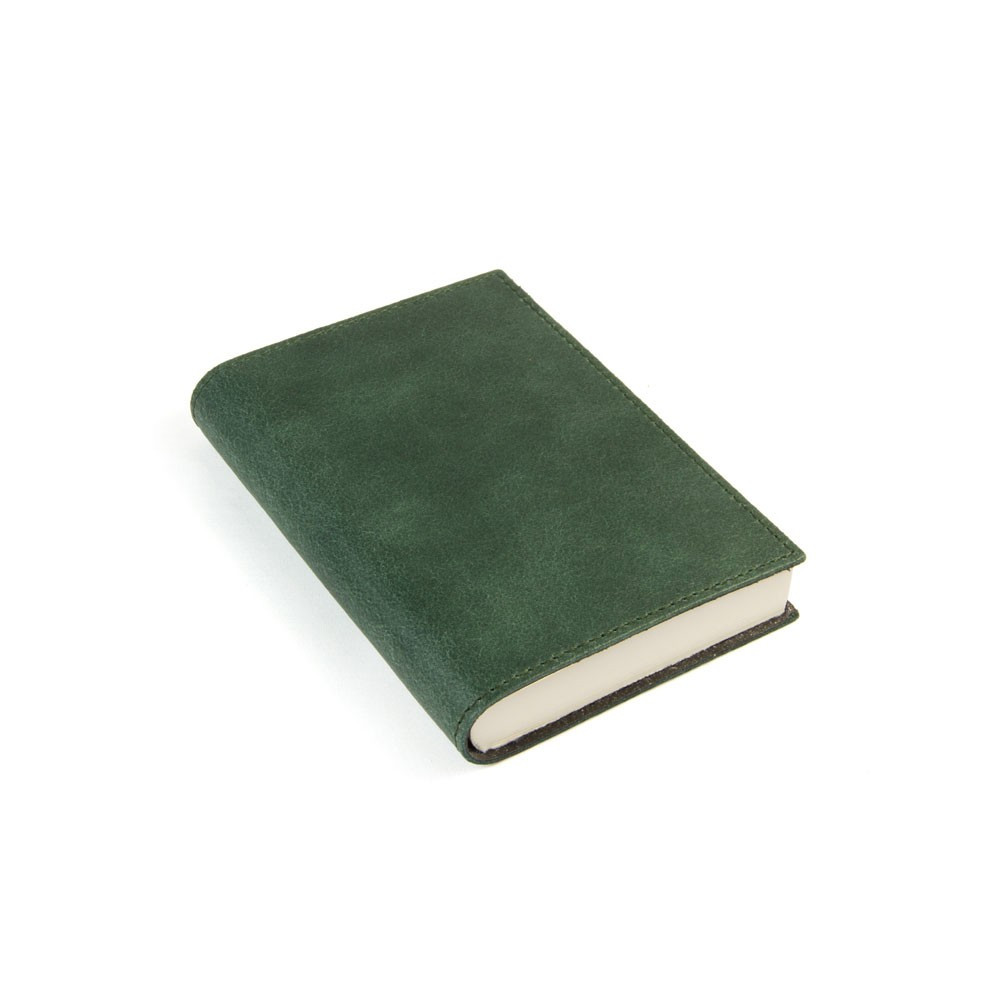 Papuro Capri Leather Journal - Green - Small