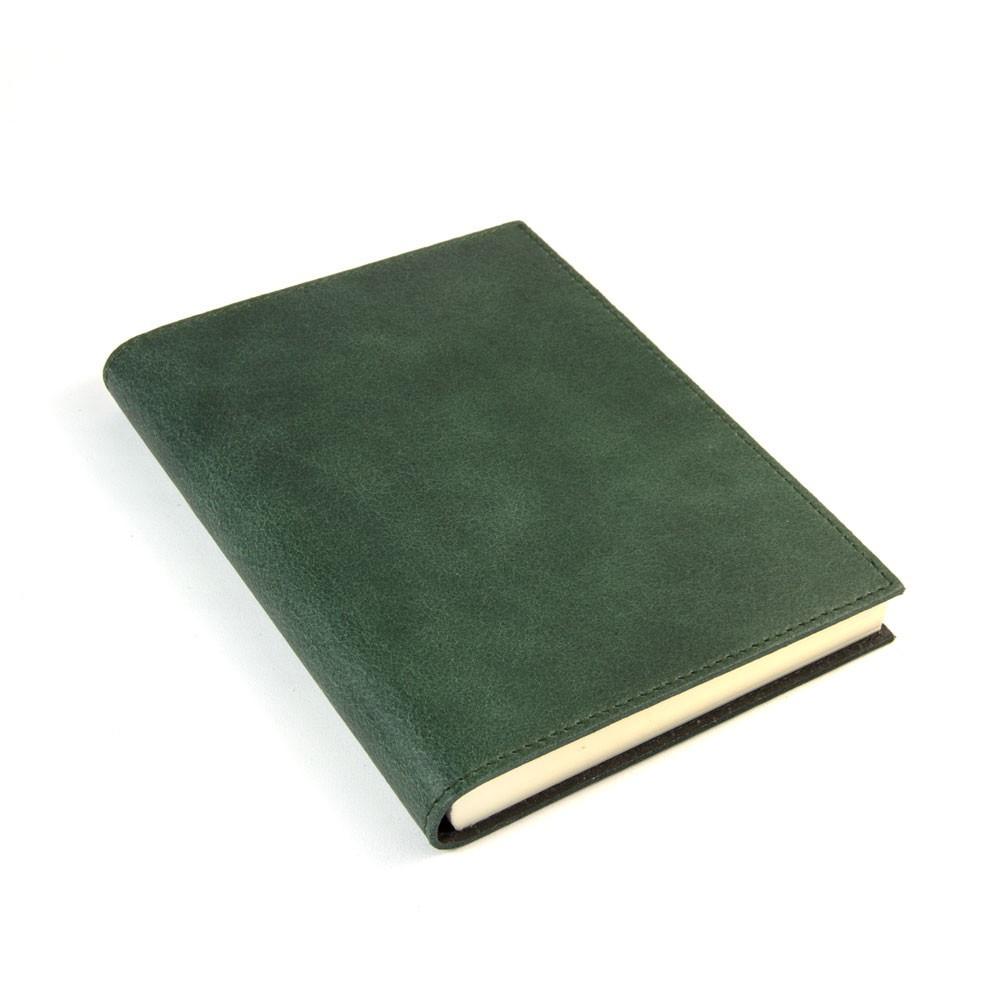 Papuro Capri Leather Journal - Green - Medium