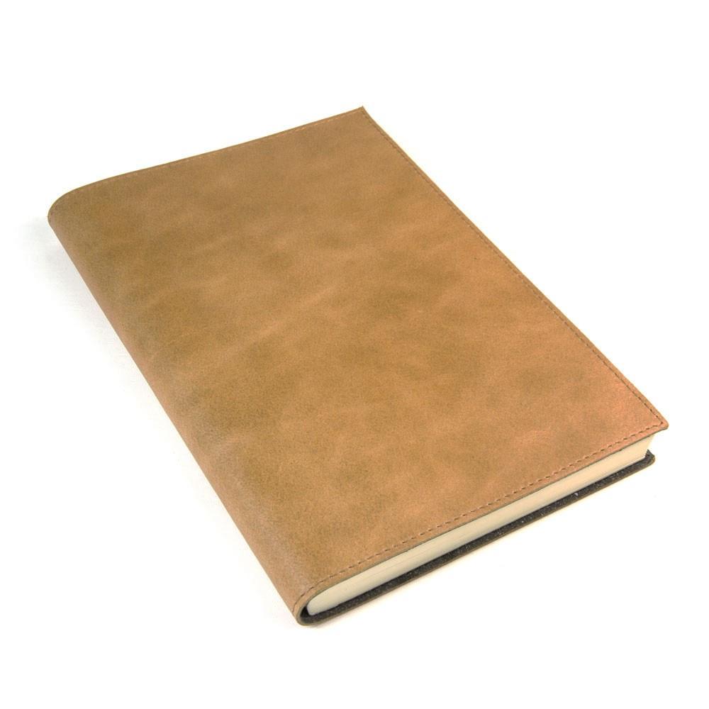 Papuro Capri Leather Journal - Tan - Large