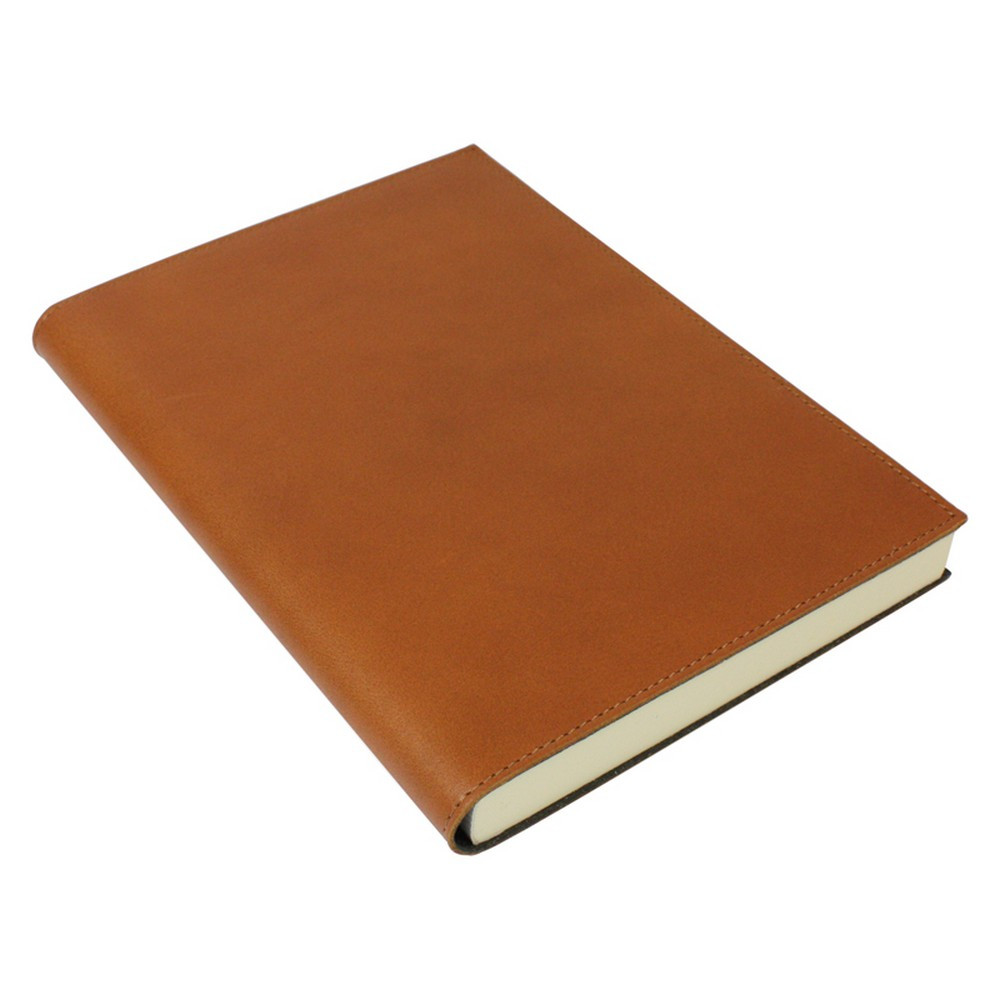 Papuro Firenze Leather Journal - Tan - Large