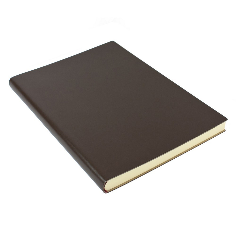 Papuro Torcello Leather Journal - Brown - Extra Large