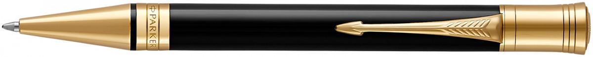 Parker Duofold Classic Ballpoint Pen - Black Gold Trim