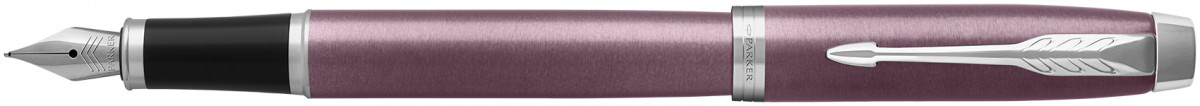 Parker IM Fountain Pen - Light Purple Chrome Trim