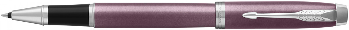 Parker IM Rollerball Pen - Light Purple Chrome Trim