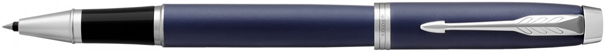 Parker IM Rollerball Pen - Blue Lacquer Chrome Trim