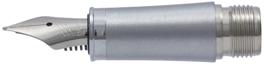 Parker IM Grey Chrome Trim Nib - Stainless Steel