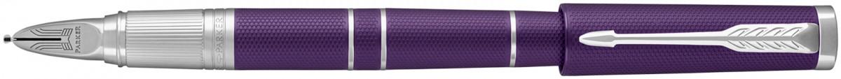 Parker Ingenuity Slim - Deluxe Blue Violet Chrome Trim