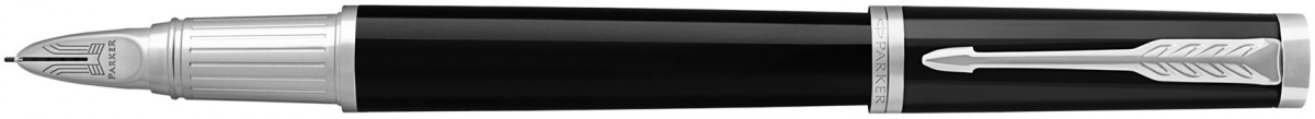 Parker Ingenuity Large - Black Lacquer Chrome Trim