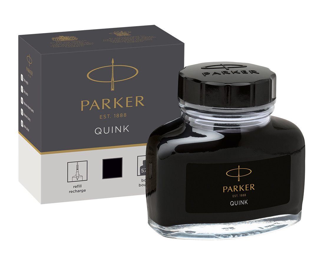 Parker Quink Bottled Ink - 57ml - Permanent
