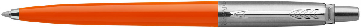 Parker Jotter Original Ballpoint Pen - Orange Chrome Trim