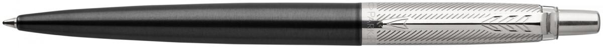 Parker Jotter Premium Ballpoint Pen - Tower Grey Diagonal Chrome Trim