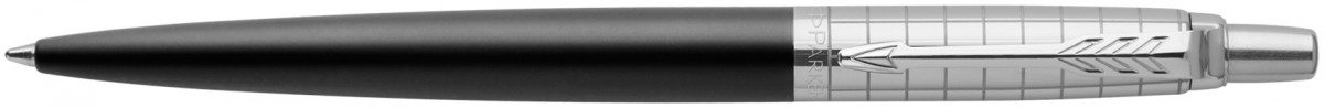 Parker Jotter Premium Ballpoint Pen - Bond Street Black Chrome Trim