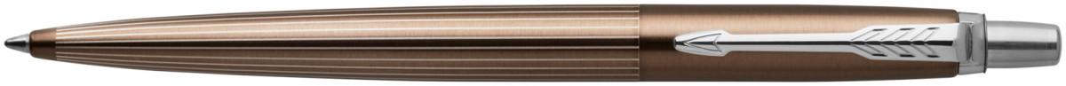 Parker Jotter Premium Ballpoint Pen - Carlisle Brown Pinstripe
