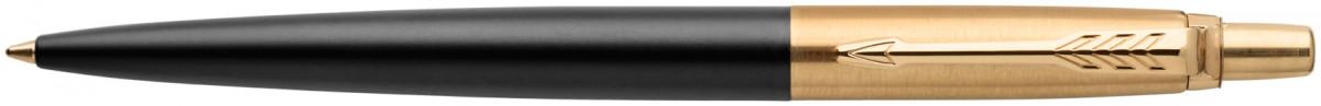 Parker Jotter Premium Ballpoint Pen - Bond Street Black Gold Trim