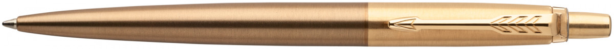 Parker Jotter Premium Ballpoint Pen - West End Brushed Gold