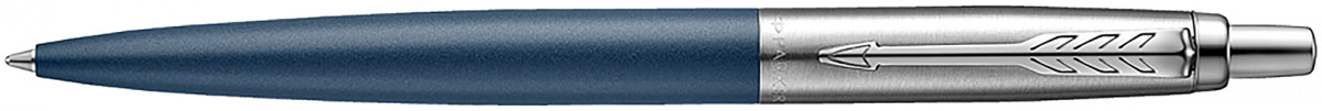 Parker Jotter XL Ballpoint Pen - Primrose Matte Blue Chrome Trim